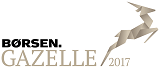 Vi er kåret til Børsen Gazelle 2017
