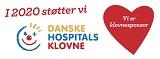 Vi støtter de Danske Hospitalsklovne i 2018, 2019 og 2020