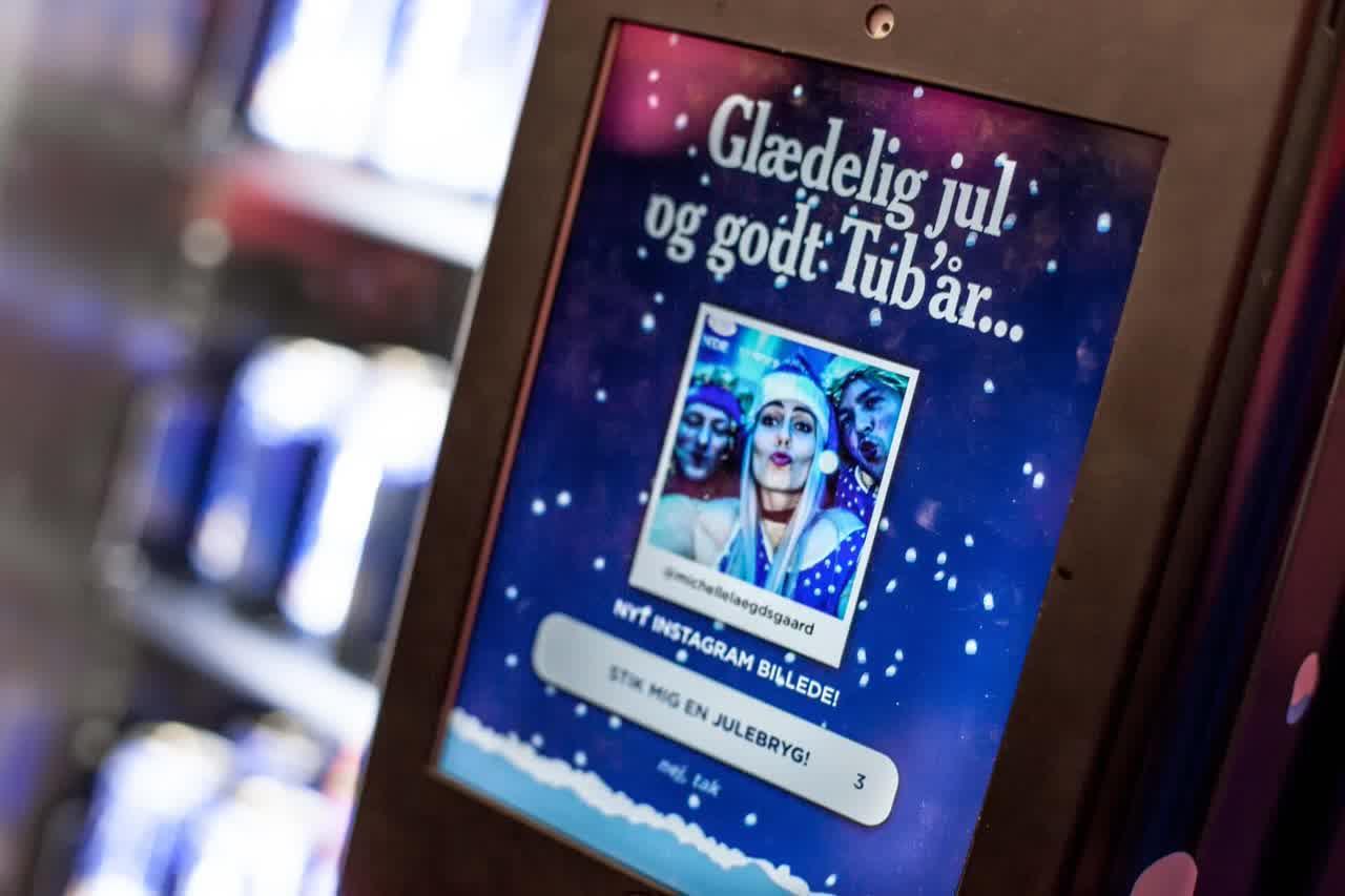 Billede af Carlsberg Julebryg Automaten