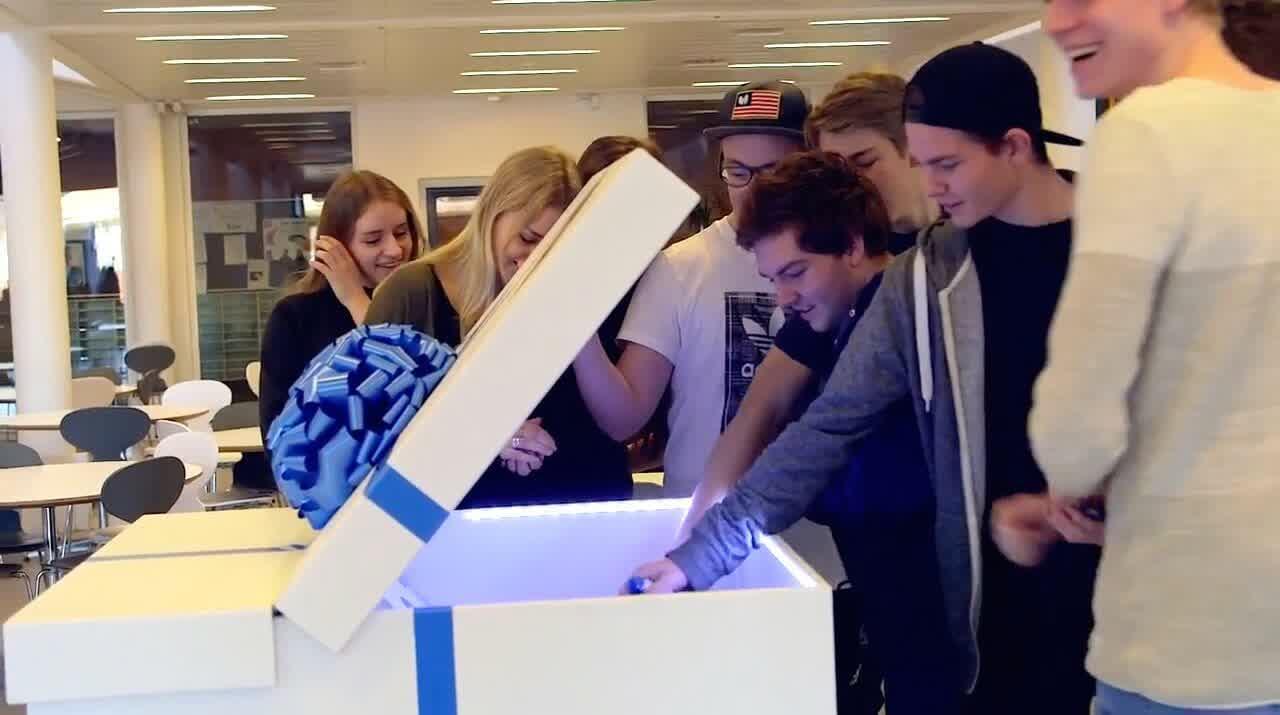 Billede af Aarhus Business College Pop-up Gaven