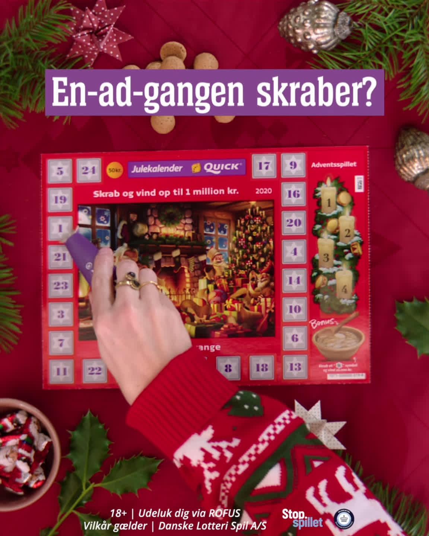Billede af Quick – Danske Spil Juleskrab