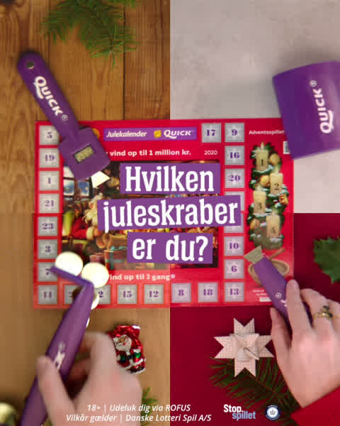 Case - Quick – Danske Spil Juleskrab
