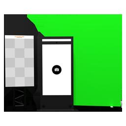 Produkt - Green Screen Booth