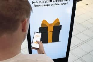 Interaktive produkter i butikken